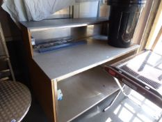 150cm Ambient mobile servery