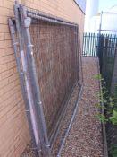 5 Heras type fencing panels