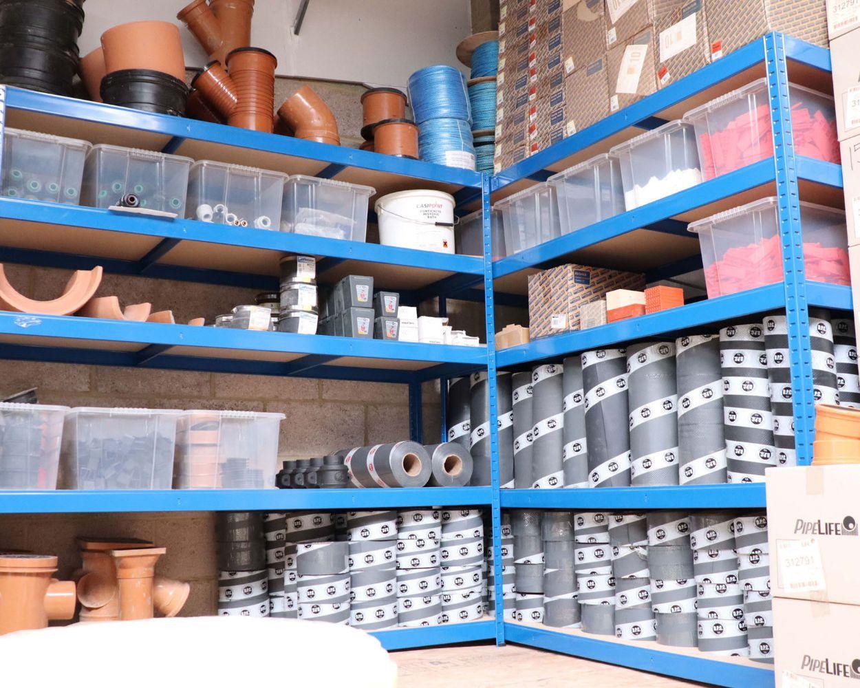 Site Buildings, Builders Plant, Tools & Stock