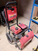 Work Zone Titanium Plus petrol engine pressure washer