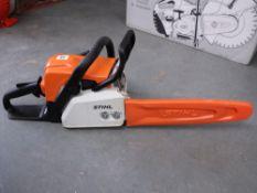 Stihl MS170 petrol engine chainsaw