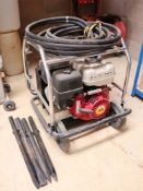 Honda petrol engine breaker unit with hose and 4 breaker points
