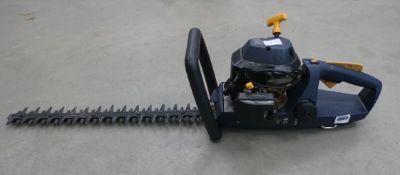 4048 Blue power performance petrol powered hedge cutter