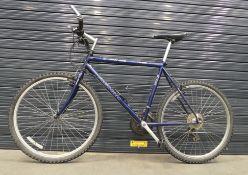 Blue Merida gents mountain bike