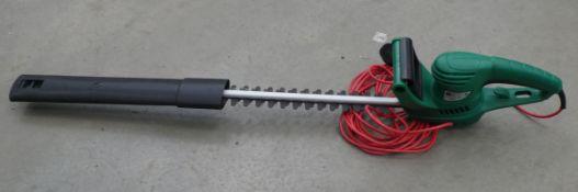 Gardenline electric hedge cutter