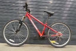 4030 Red Apollo child's bike