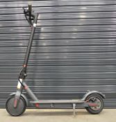 Grey electric scooter (no charger)