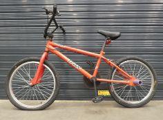 Small Trek red BMX