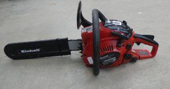 Einhell petrol powered chainsaw