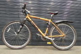 Orange Trek gents mountain bike