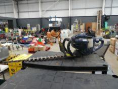 Einhell petrol powered hedge cutter