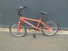 4022 Trax BMX bike inred
