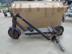 Boxed electric Windgoo scooter with charger