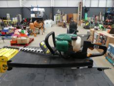 Gardenline petrol powered hedge cutter