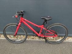 Red BMX