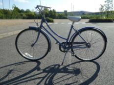 Blue Raleigh kids bike