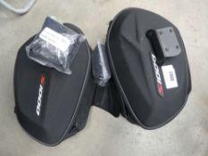 2 BMW S1000 side panniers