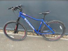 Schwinn blue gents mountain bike