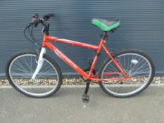 Townsend red mountain bike