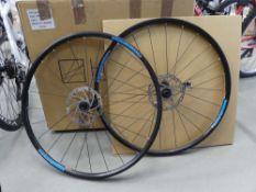 2 Hunt bike wheels