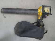 McCullough petrol powered leaf blower