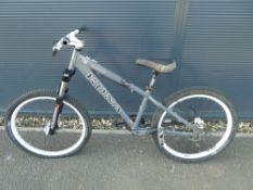 Kona grey BMX