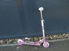 Pink LOL girls scooter