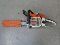 Stihl 028AV5 petrol powered chainsaw