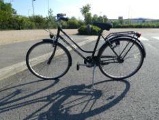 Black Classic ladies bike
