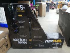 Riprail boxed scooter