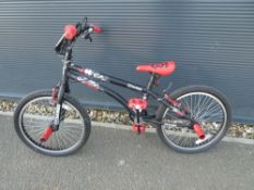 4021 Black and red BMX