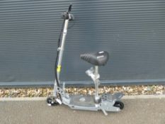 4042 Silver electric scooter