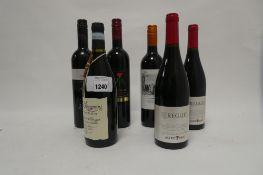 6 bottles Italian Red wines, 1x IL Papavero Primitivo Puglia 2019,