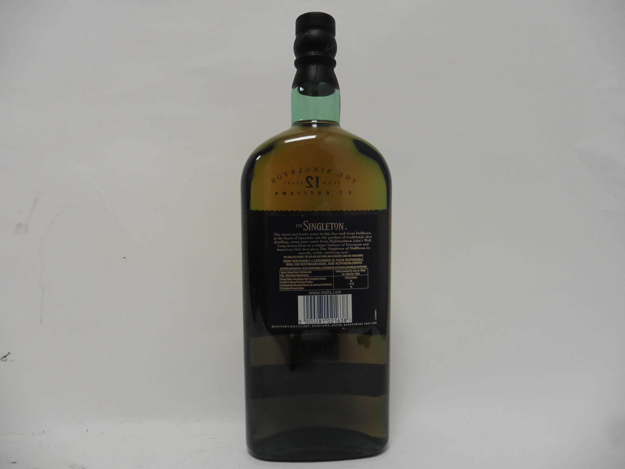 A bottle of The Singleton 12 year old Single Malt Scotch Whisky, - Image 2 of 2