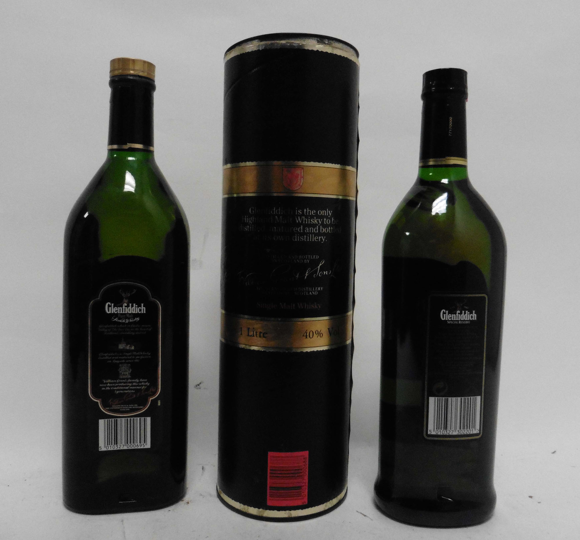 2 bottles of Glenfiddich Single Malt Scotch Whisky, - Image 2 of 2