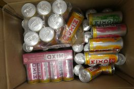 About 55 cans of WKD MIXD Peach/Passionfruit/Rum,