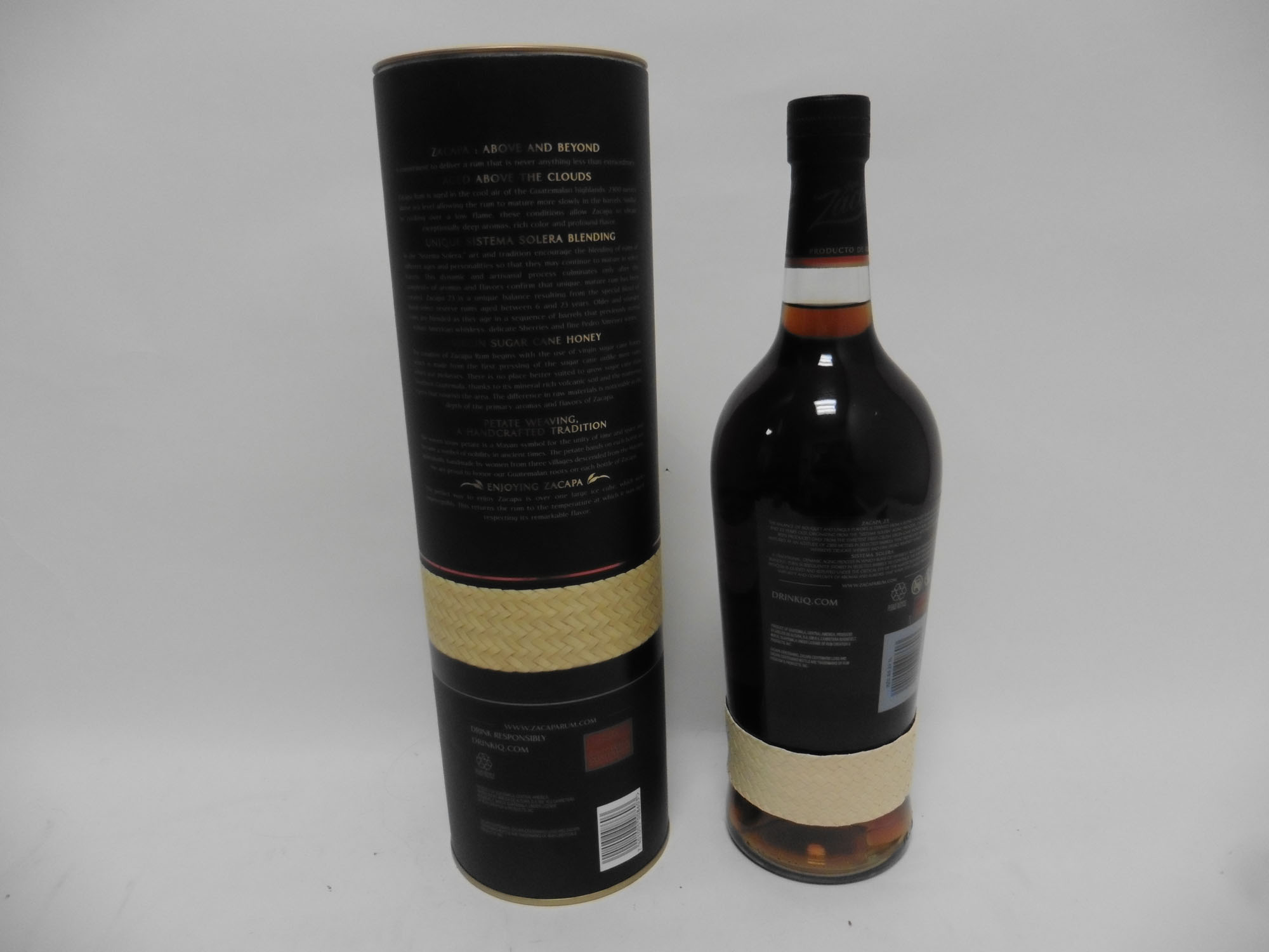 A bottle of Ron Zacapa Centenario Sistema 23 Solera Gran Reserva Rum from Guatemala with carton 1 - Image 2 of 2