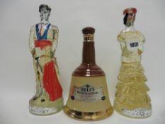 3 bottles circa 1980's,
