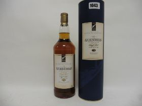 A bottle of Auchentoshan 12 year old Lowland Single Malt Scotch Whisky bottled for Cunard Queen