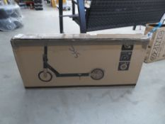 Boxed electric scooter