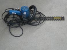 Small Black & Decker electric hedgecutter