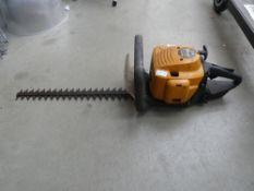 McCulloch orange petrol powered hedge cutter