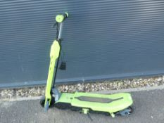 Viro green electric scooter with charger