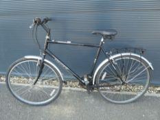 Hawk Woodland black gents bike
