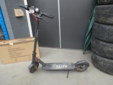 Curve unboxed electric scooter