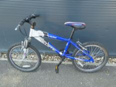 Blue Coyote childs bike