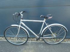 Silver Reflex gents bike
