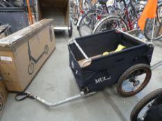 2 wheel bike trailer