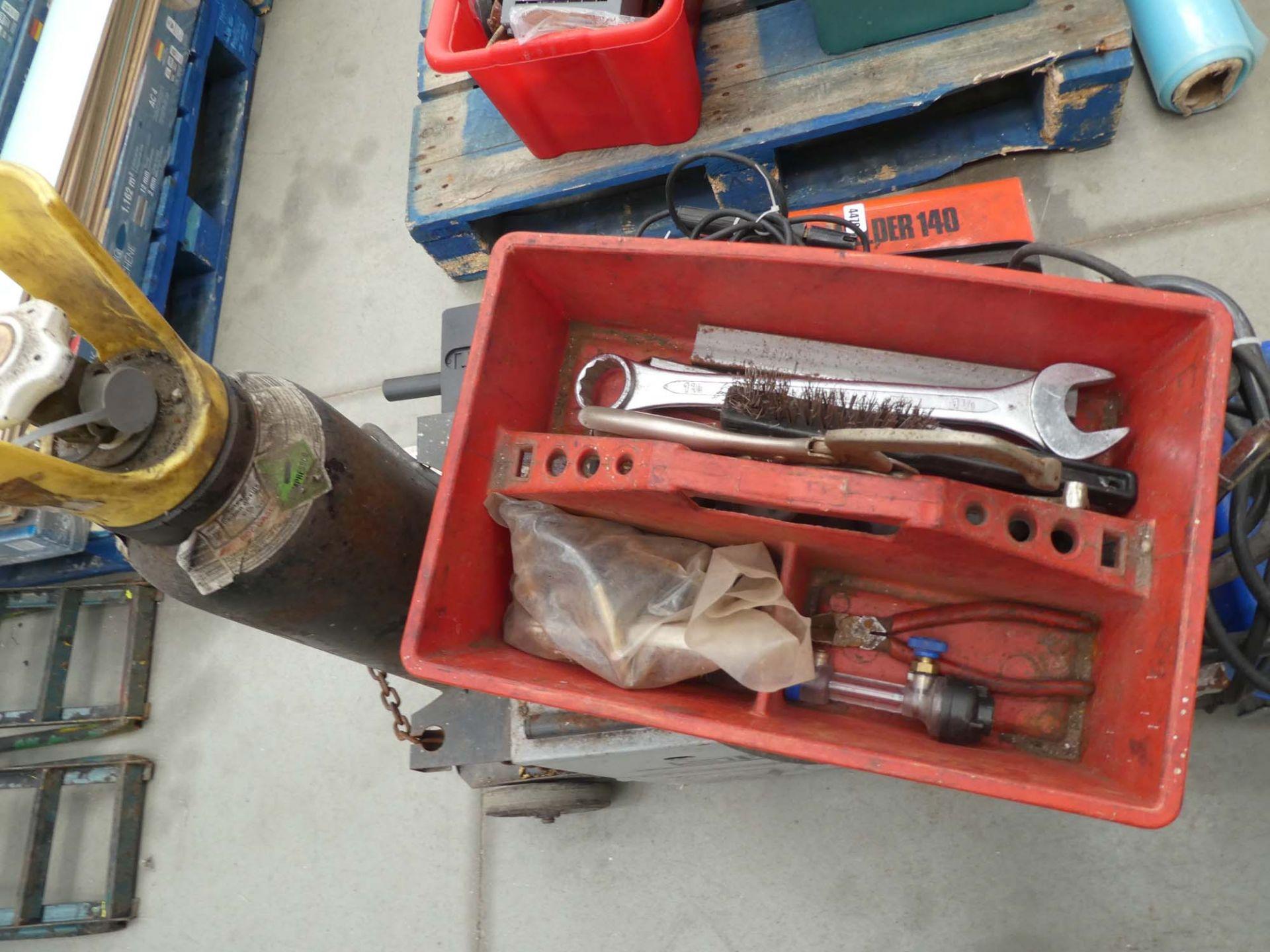 Sip Auto Plus mig welder with helmet - Image 2 of 2