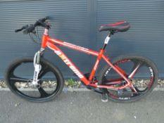 Red Extreme mountain bike